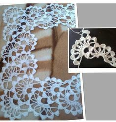 Kenar peçete Crochet Cord, Filet Crochet, Crochet Lace, Crotchet Patterns, Crochet Square Patterns, Cutwork Embroidery, Crochet Blouse, Needlework, Knitting