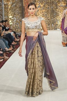 Following in the tradition of the couturiers to the Moghul and British  Empire of the indo ad020454f2d52