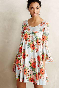 Fluttered Blooms Swing Dress; size medium or 10