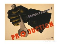 Production, America's Answer! Prints at AllPosters.com