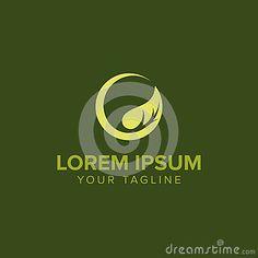 Abstract Circular Leaf Logo Stock Vector - Illustration of decoration, forest: 82764442 Leaf Logo, Logo Concept, Logos, Lorem Ipsum, Illustration, Logo Design, Touch, Abstract, Decoration