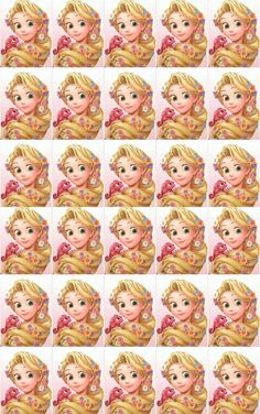 Princesas Princesa Rapunzel Disney, Rapunzel Cake, Tangled Rapunzel, Rapunzel Birthday Party, Disney Frozen Birthday, Tangled Party, Rapunzel Drawing, Kids Dress Patterns, Party Streamers