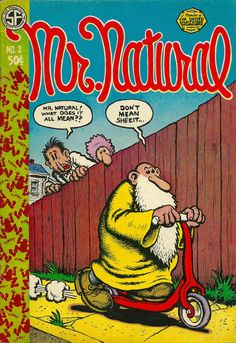 #50YearsAgo#50YearsAgo Mr Natural ( http://ift.tt/2pdiBsS ) Mr. Natural (Fred Natural) is a comic book character created and drawn by 1960s counterculture and underground comix artist Robert Crumb. Enormously popular during the underground comix fad of the 1960s and 1970s and still enjoying a cult following today Mr. Natural has been endlessly merchandised as a decorative plastic statue and on bumper stickers posters T-shirts etc. The character first appeared in the premiere issue of…
