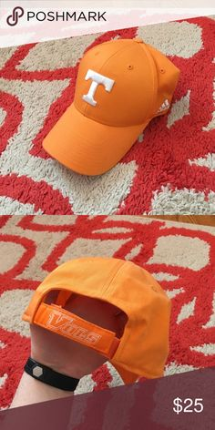 Tennessee Adidas Hat, One size fits all Like new hat, worn once, Tennessee Vols Hat Adidas Accessories Hats