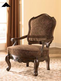 North S Dark Brown Accent Chair By Ashley Furniture Ashleyfurnitre Homedecor