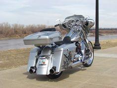 "Custom Bagger for Sale Craigslist   ... HD Street Glide Custom Bagger 23"" Wheel (NKC)   Motorcycles for Sale"