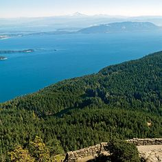One of the top 45 hikes in the West: Moran State Park, Orcas Island, WA. A view like none other.