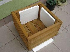 Donice drewniane na balkon i taras - jak zrobić impregnowane i ocieplane