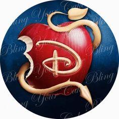Sale Disney Descendants Logo Edible Icing Sheet Cake Decor Topper - DD3