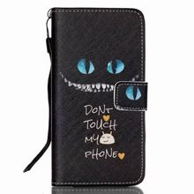 Dont Touch My Phone Leather Flip Cover Case For Samsung Galaxy S3 S4 S5 Mini S6 S7 Edge G360 G530 For iPhone 4S 5S 6 Plus Case(China (Mainland))