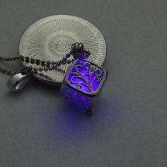 Life Dark Glowing Luminous Necklace