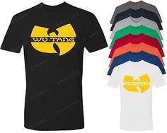 WU TANG Clan Logo T-Shirt Hip Hop Rap RZA Method Man WuTang Shirt ODB NYMCMB tee