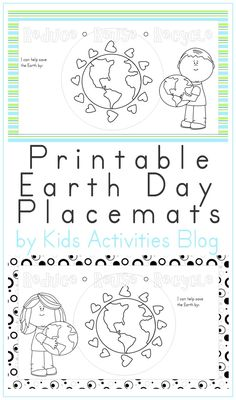 EARTH DAY PLACE MATS