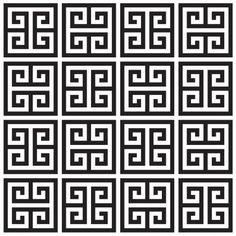 Jonathan Adler Greek Key Wallpaper