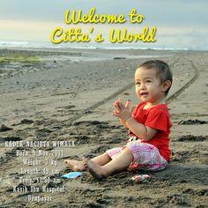 celebrating Citta's first year