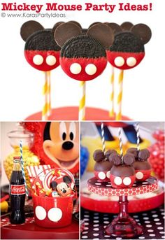M-I-C-K-E-Y M-O-U-S-E! Who doesn't love Mickey Mouse? Mickey Mouse is one of the most popular party themes of all time because, well, kids and parents alike love Mickey Mouse! If you have a Mousketeer in your home, read on as eBay share ways to create a fun and memorable Mickey Mouse party for your child's next birthday party!