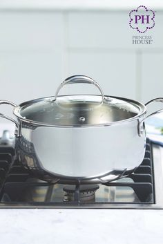 Stir up your kitchen cookware with the Princess Heritage® Tri-Ply Stainless Steel 6-Qt. Stir Casserole