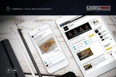 Umbrarisk Security Social Media Management Facebook #Digital #o8 #Origin8Concepts #Branding