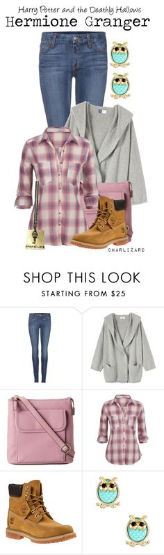 """Hermione Granger"" by charlizard ❤ liked on Polyvore featuring Koral, Toast, Relic, maurices, Timberland and Bansri"