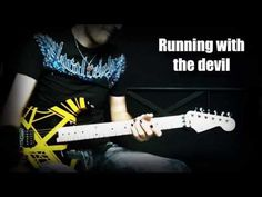 Van Halen - Running with the devil guitar cover learned how to play it