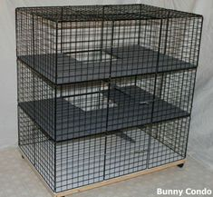 A secure area for your dog A dog kennel is a great choice to offer your pets secure leave all through outside posture or temporary accommodation. Whether for an individual four-legged buddy, for reari Diy Bunny Cage, Bunny Cages, Diy Dog Crate, Large Dog Crate, Cage Chinchilla, Large Dog Carrier, Rabbit Hutch Indoor, Indoor Rabbit Cages, Free Rabbits