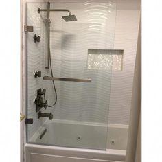 Rialto x Hinged Bathtub Door Bathtub Doors, Best Bathroom Designs, Bathroom Ideas, Bathtub Ideas, Design Bathroom, Luxury Bathtub, Bathtub Remodel, Bathroom Furniture, Amazing Bathrooms