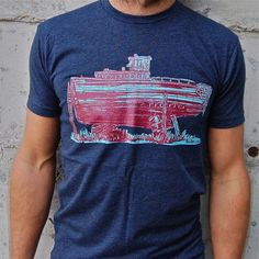 Drydock Tee Navy, $18, now featured on Fab.