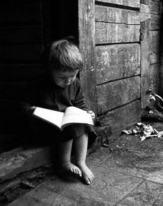 In a black an white world, reading brings you to a world full of color.....A-NY