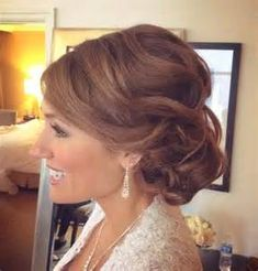 Image result for Over 50 Updo Hairstyles Mother of the Groom