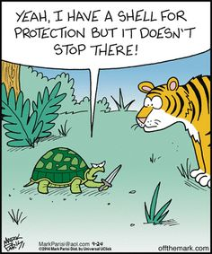 Afbeeldingsresultaat voor of the mark cartoon shell tortoise Biology Humor, Chemistry Jokes, Grammar Humor, Science Jokes, Funny Animal Comics, Funny Animals, Animal Humor, Teacher Memes, Old Cartoons