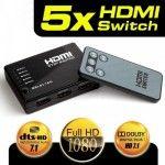 Dark Full HD 4 Giriş 1 Çıkışlı Uzaktan Kumandalı HDMI Switch (Seçici) DK-HD-SW4X1