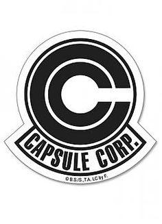 Dragon Ball Sticker - Capsule Corp Logo
