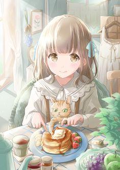 """星茨まと on Twitter: """"#これが私の代表作… """" Manga Anime Girl, Cool Anime Girl, Pretty Anime Girl, Anime Girl Drawings, Beautiful Anime Girl, Anime Artwork, Kawaii Anime Girl, Anime Love, Cute Drawings"""