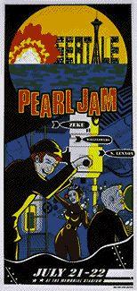 Pearl Jam 7-22-1998 Ames Bros.