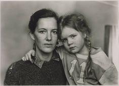 'Hannah Erdrich-Hartmann and Jana-Maria Hartmann, Düsseldorf 1987', Thomas Struth, 1987   Tate