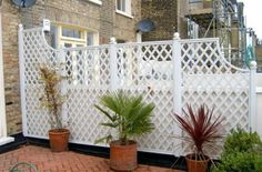 stepped trellis to separate the neighbors