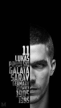 Lukas Podolski Typography