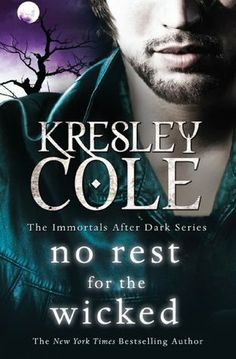 No Rest For The Wicked by Kresley Cole finished July