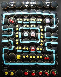 Pacman Kapkekler | Pacman Cupcakes
