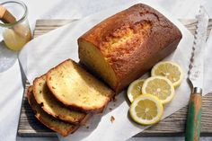 Gluten Free Lemon Pound Cake - would be perfect if I substituted GF flour for Almond flour and coconut flour mix, and switched the sugar with monk fruit sweetener for 0 grams of sugar!