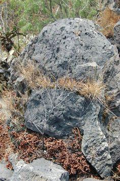 Roca volcánica, base de la REPSA