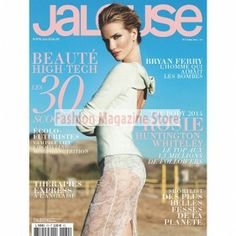 """Jalouse is a French based monthly fashion and lifestyle magazine. Translated as """"Jealous"""", this magazine is dedicated to French style, celebrity and glamour. The magazine has an eclectic and ever changing bunch of personalities and is known for portraying its celebrities in black and white spreads. It gives up and coming artists and journalist page space to show off their avant garde wares, images and ideas."""
