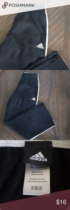 Boys 10/12 Adidas Pants Black Adidas athletic pants, size medium 10/12 in boys adidas Bottoms Sweatpants & Joggers