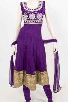 CSM3340 Indigo et la verge d'or Ensemble Churidar Designer Indian Bollywood Chudidar Bust Size 38 Inches: Krishna Sarees: Amazon.fr: Vêtements et accessoires