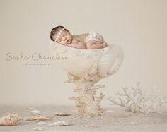Muchacha recién nacida del entorno digital por Sashasdigitaldrops