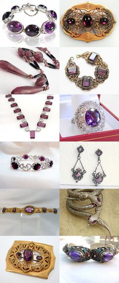 Plutastically Purple Vintage from the Ecochic Team by Karla Baugh on Etsy--Pinned with TreasuryPin.com