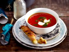 Bloody-Mary-Suppe Rezept