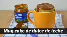 Mug cake de dulce de leche, una #receta de @cuuking.