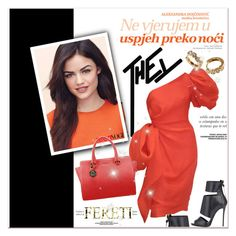 """""""FERETI"""" by janee-oss ❤ liked on Polyvore"""