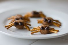 Peanut Butter Spiders!